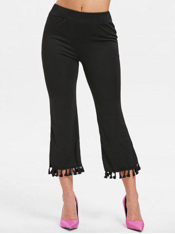 Outfits Tassels Ninth Flare Pants