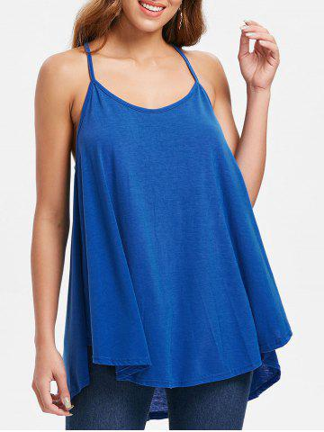 Chic Plain Tunic Tank Top