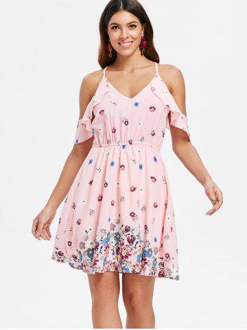 Print Casual Spaghetti Strap Dress