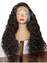 Long Free Part Curly Lace Front Synthetic Wig -