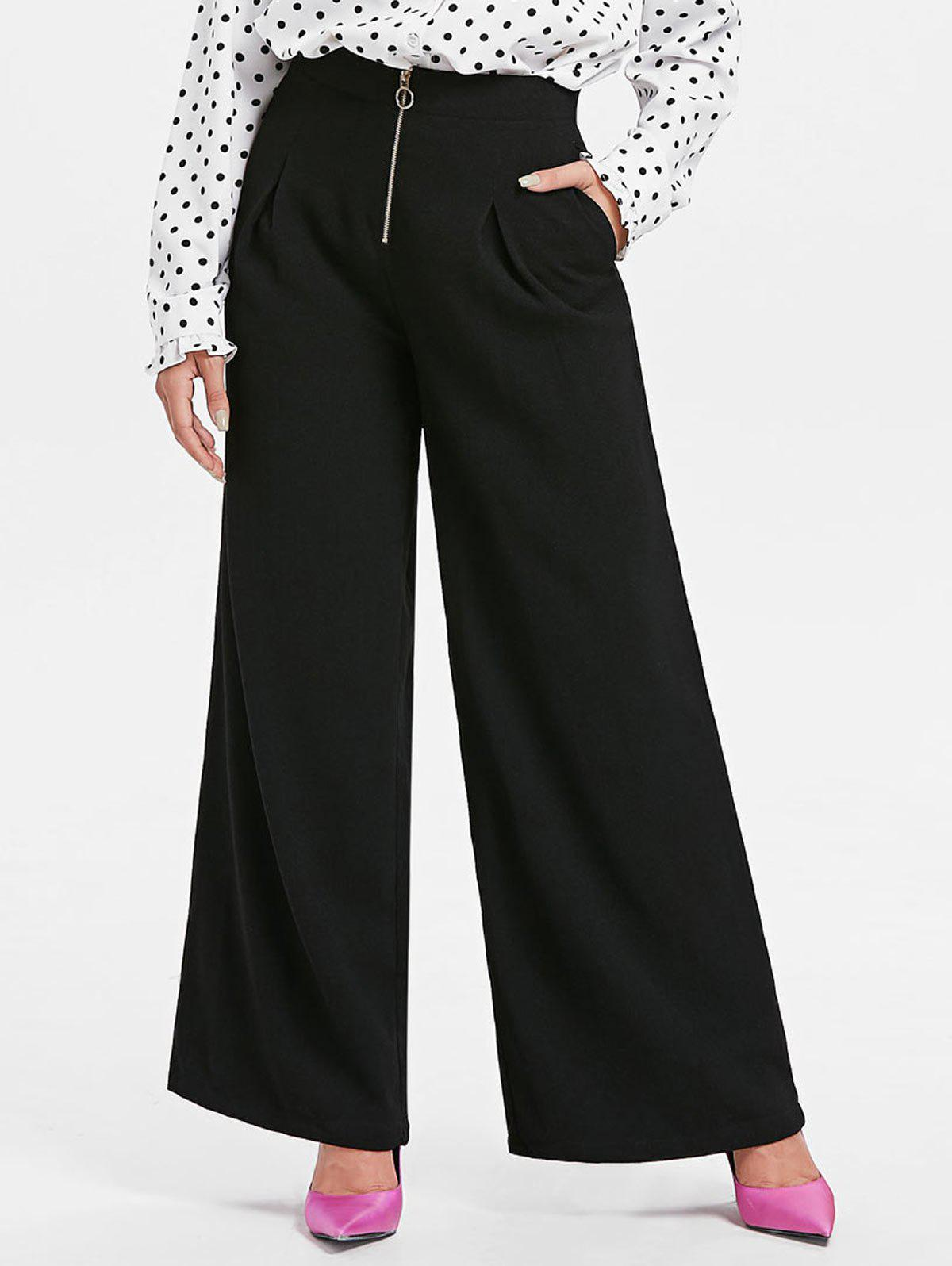 Latest High Waist Straight Pants