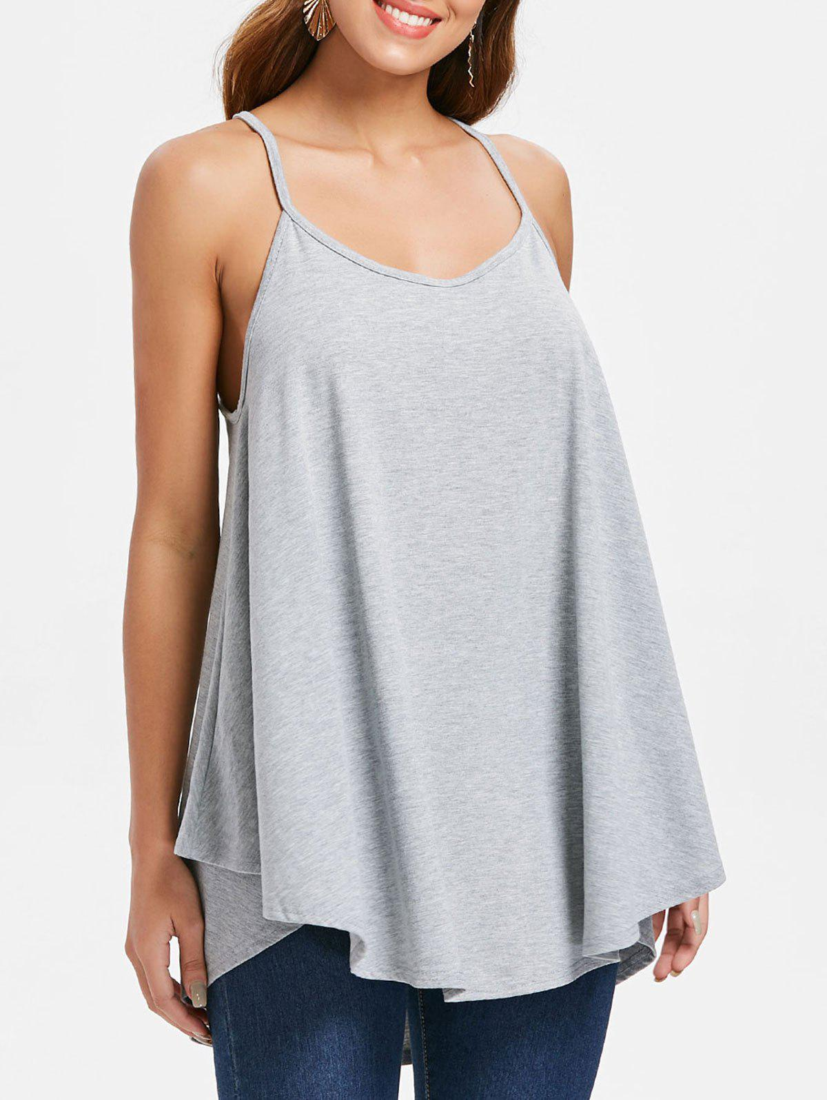 Store Plain Tunic Tank Top