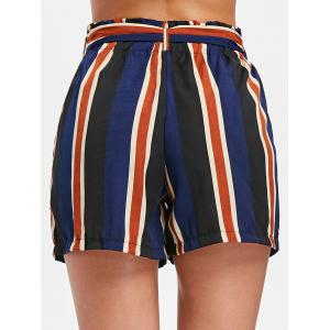 High Rise Stripe Shorts -