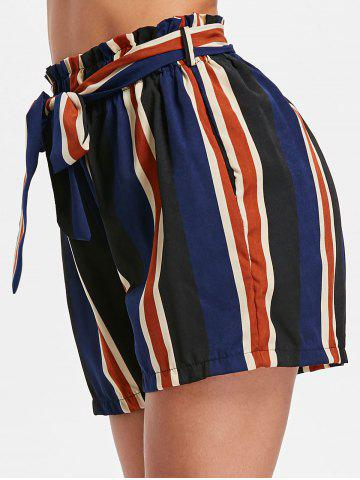 Buy High Rise Stripe Shorts
