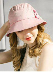 Foldable Floral Wide Brim UV Protection Sun Hat -