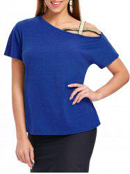Criss Cross Short Sleeve T-shirt -