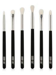 6 Pcs Extra Soft Fiber Hair Eye Makeup Brush Set -