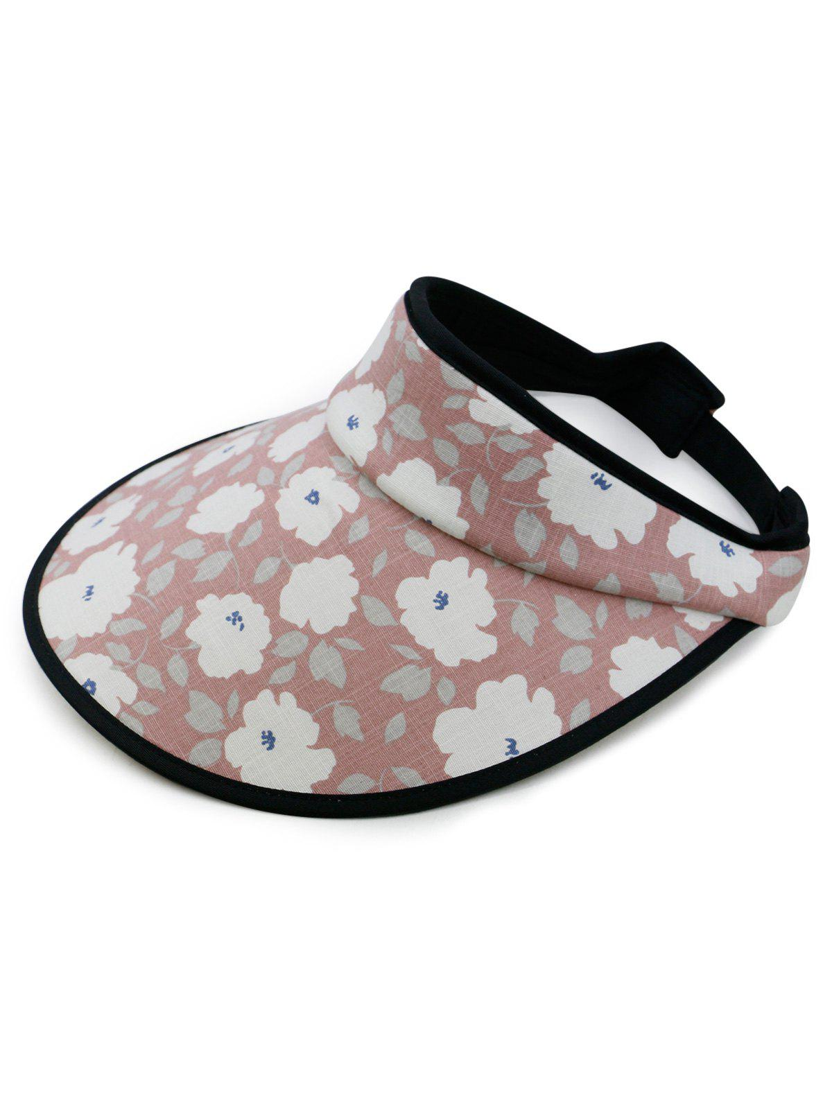 Chic Vintage Flowers Printed Open Top Travel Hat