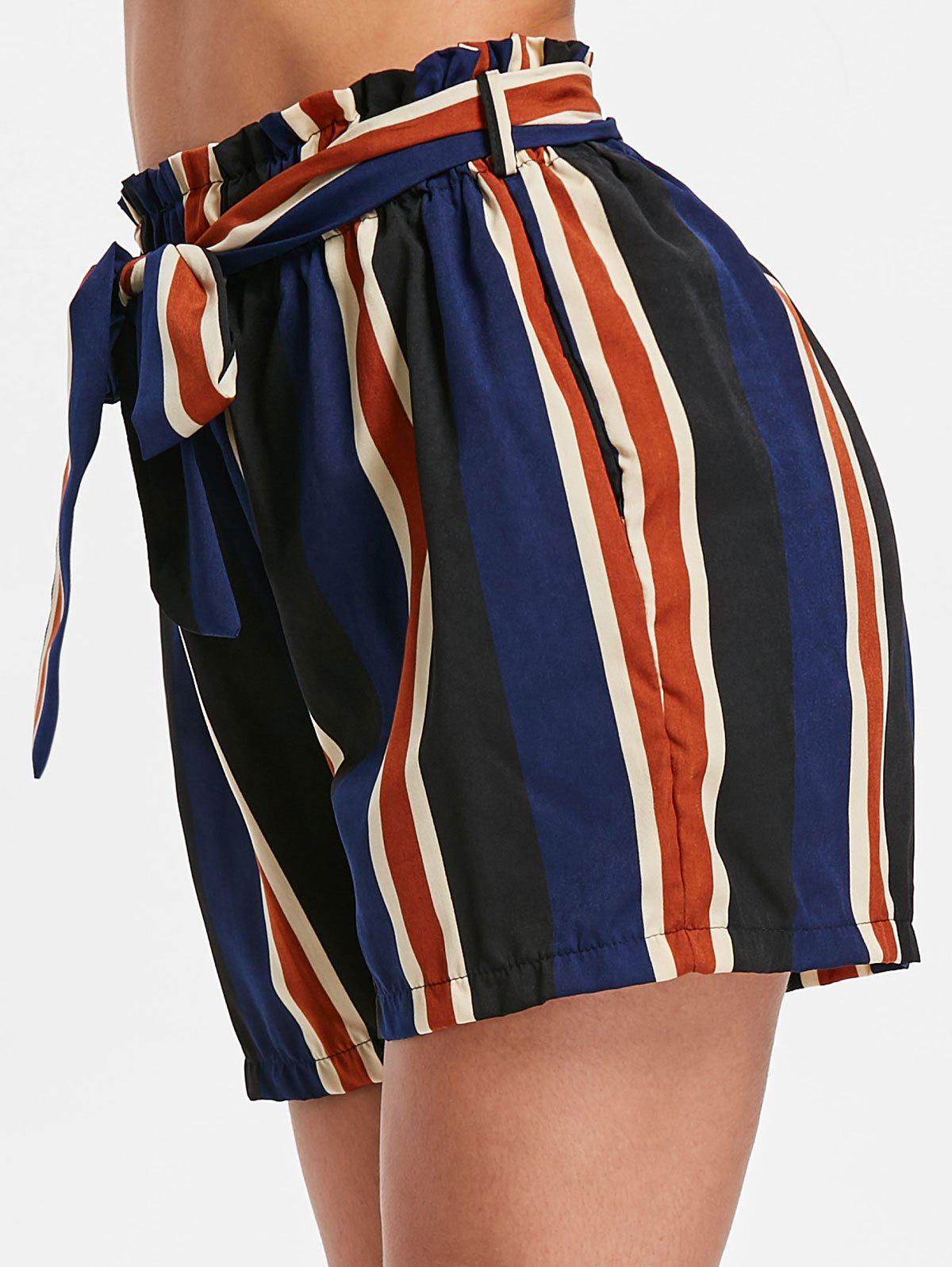 Outfits High Rise Stripe Shorts