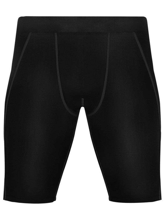 Online Stretchy Quick Dry Fitted Fitness Jammer Shorts