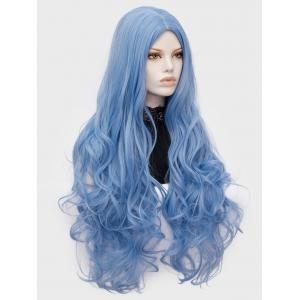 Long Center Parting Wavy Party Lolita Synthetic Wig -
