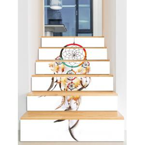 Bohemian Dream Catcher Printed Decorative Stair Decals -