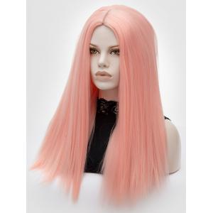 Long Middle Part Straight Lolita Synthetic Wig -