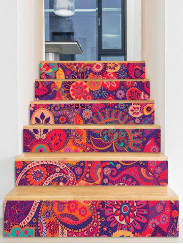 Shop Bohemian Printed Decorative Stair Decals
