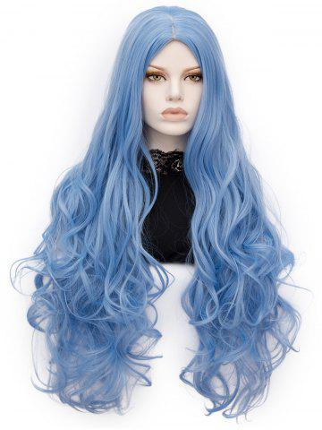 Affordable Long Center Parting Wavy Party Lolita Synthetic Wig
