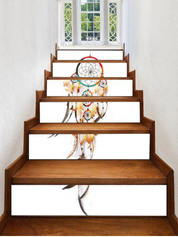 Fancy Bohemian Dream Catcher Printed Decorative Stair Decals