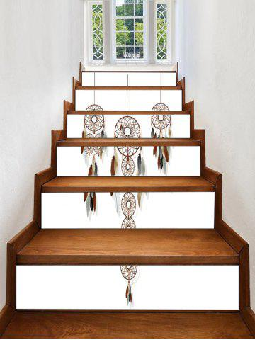 Best Dream Catcher Feather Print Decorative Stair Stickers