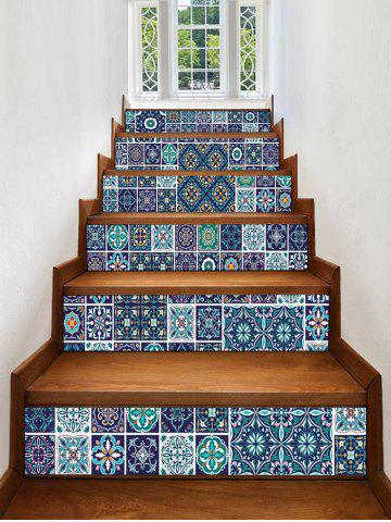 Affordable Geometric Print Decorative Stair Stickers