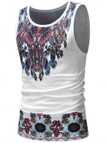 Fancy Casual Tribal Print Tank Top