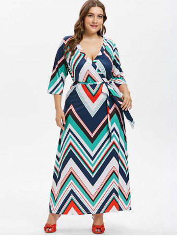 9d0419d9d9474 Plus Size Zig Zag Dress - Free Shipping, Discount And Cheap Sale ...