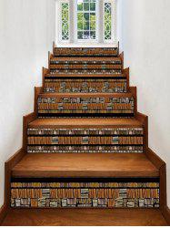 Wooden Printed Decorative Stair Stickers -