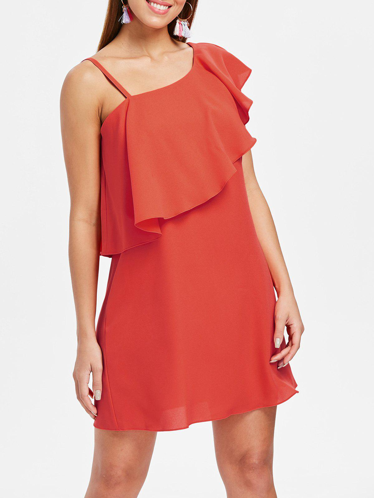 Store Skew Neck Shift Dress
