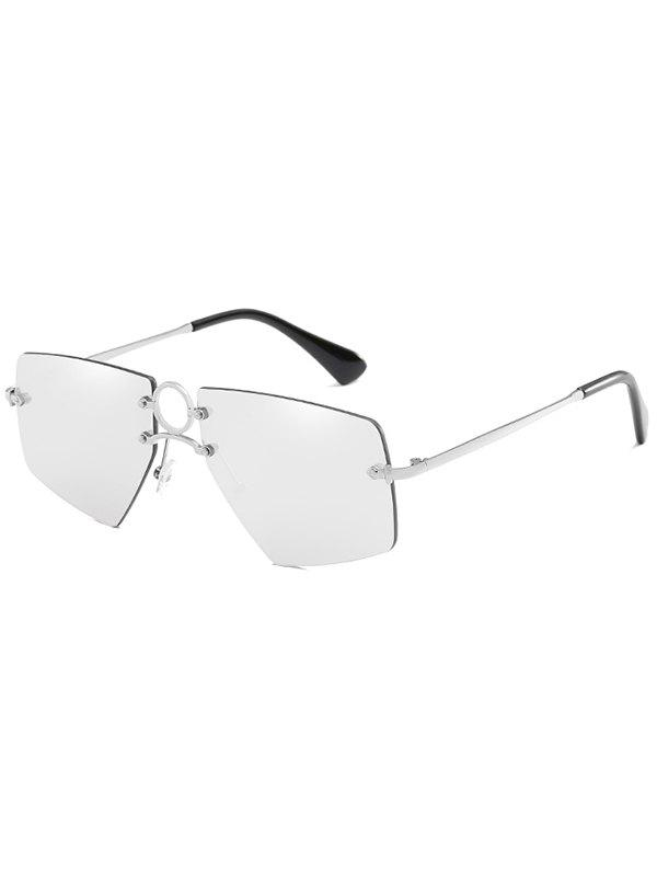 2723adb1f13 Online Anti Fatigue Hollow Out Ring Novelty Sunglasses