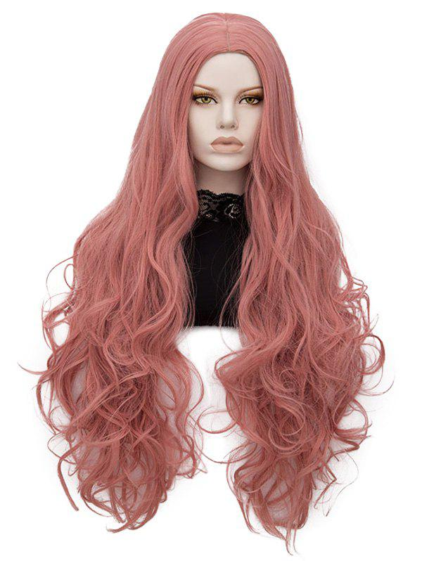 Trendy Center Parting Long Wavy Lolita Synthetic Wig