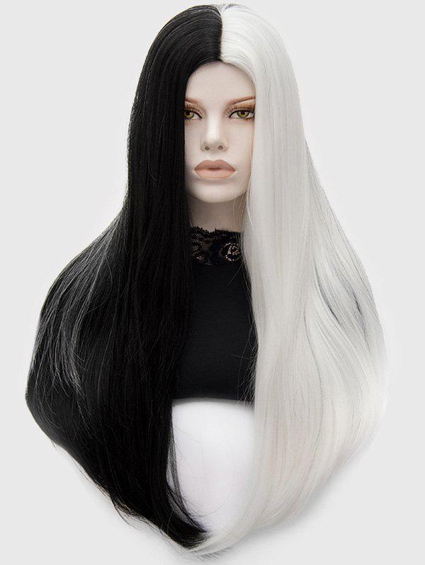 Store Long Center Parting Ombre Straight Synthetic Wig