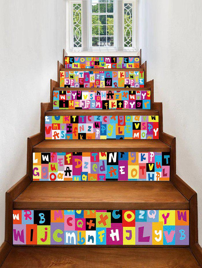 Best Letter Printed Decorative Stair Decals