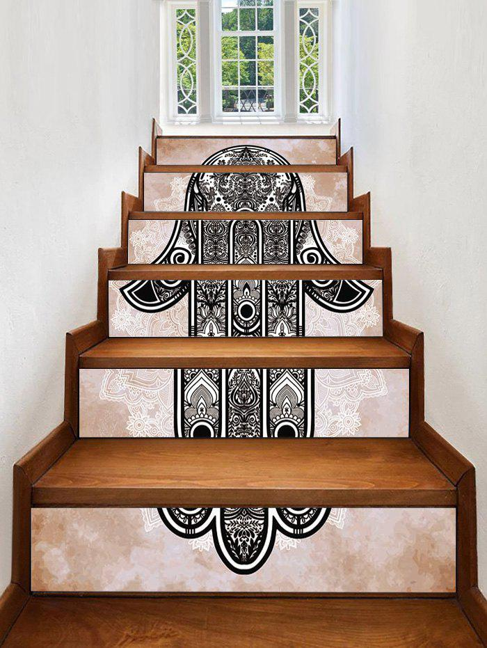 Hot Hand Print Decorative Stair Stickers