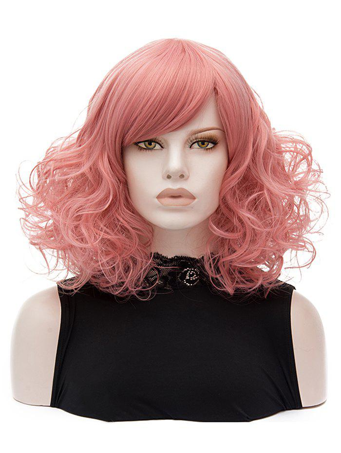 Latest Medium Side Bang Curly Lolita Synthetic Wig
