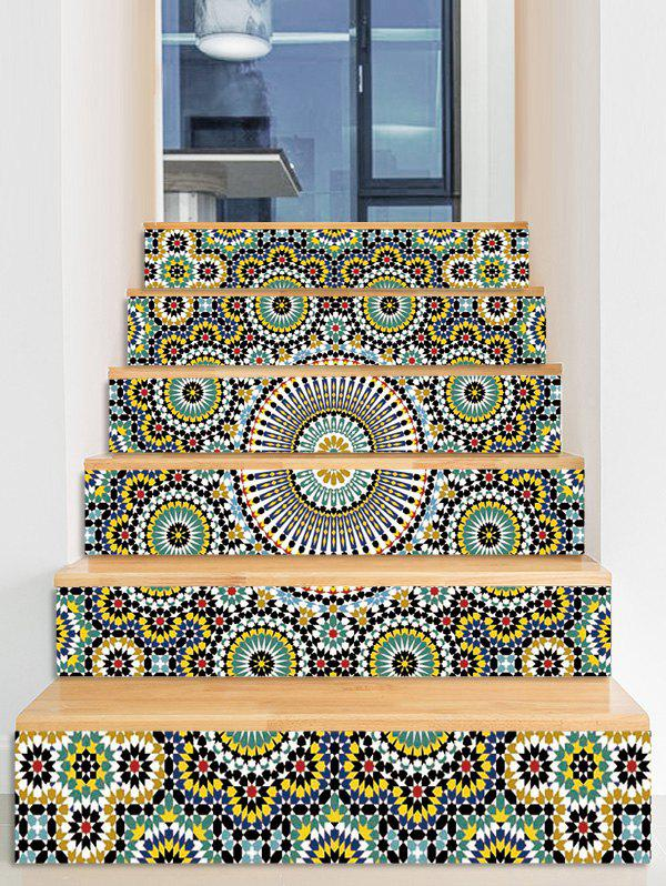 Store Ethnic Printed Decorative Stair Decals