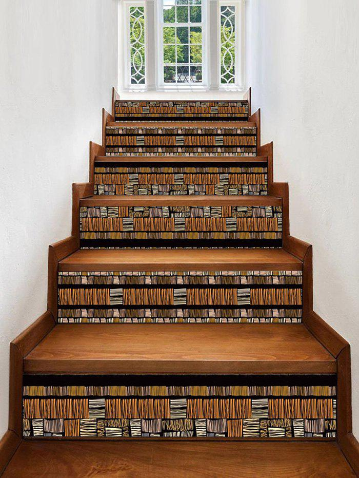 Shop Wooden Printed Decorative Stair Stickers