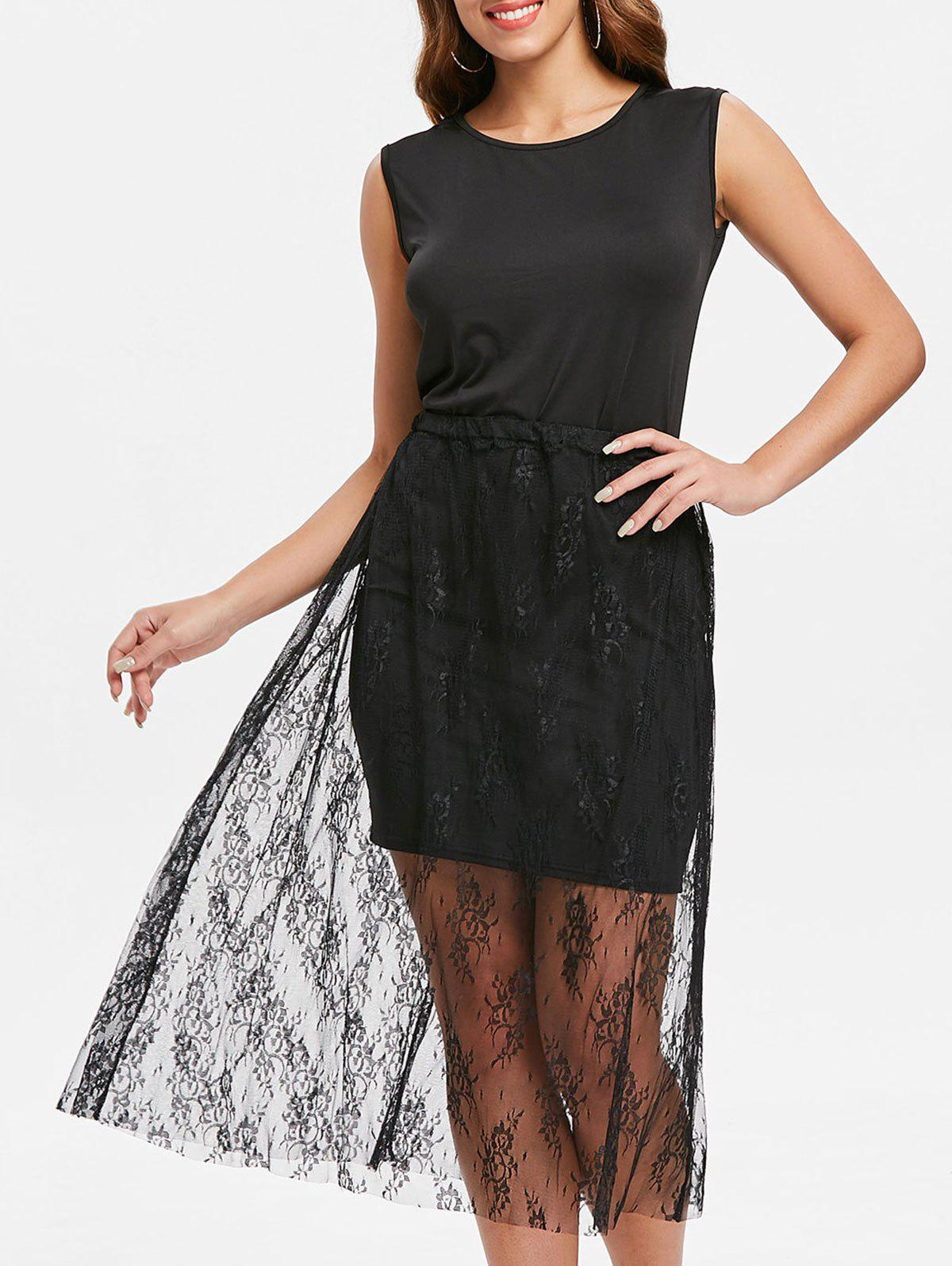 Shop Tank Dress and Lace Skirt