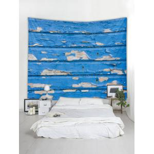 Wall Hanging Art Old Wooden Wall Print Tapestry -