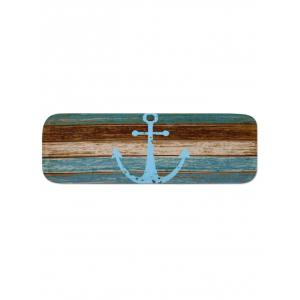 Wood Board and Anchor Pattern Stair Rug Runners -