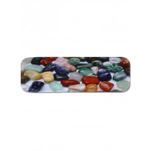 Colored Stones Printed Non-slip Stair Rug Runners -