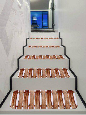 Unique Wooden Pattern Stair Floor Rugs