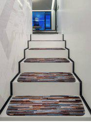Brick Wall Printed Decorative Stair Mats -