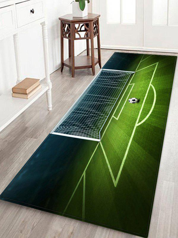 Chic Football Field Printed Area Mat