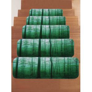 Forest Tree - Tapis antidérapants pour escaliers -
