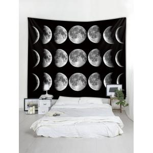 Wall Hanging Art Lunar Eclipse Print Tapestry -