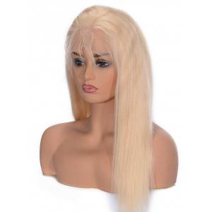 Free Part Straight Lace Front Real Human Hair Wig -