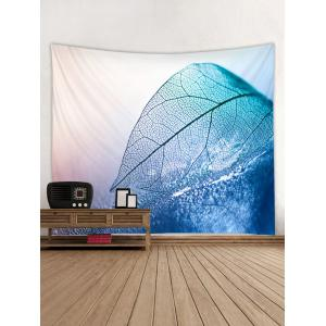 Leaf Water Print Wall Tapestry Hanging Decor -