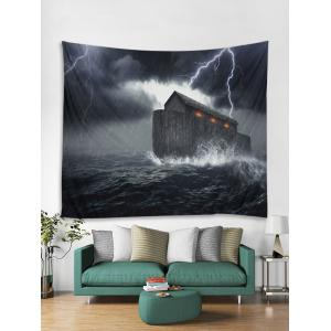 Cool Storm Printed Wall Tapestry Hanging Decoration -