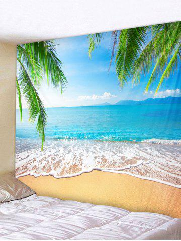 Latest Wall Hanging Art Beach Palm Leaf Print Tapestry