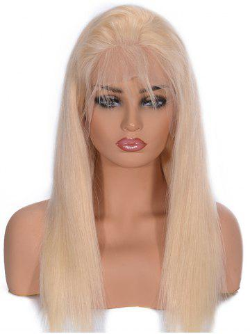 New Free Part Straight Lace Front Real Human Hair Wig