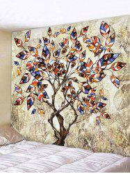Waterproof Tree Pattern Wall Hanging Tapestry -