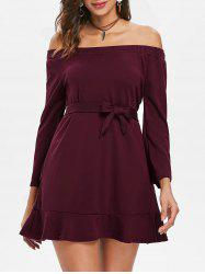 Off The Shoulder Belted Top -